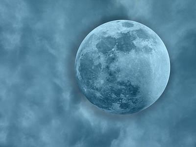 Lunar Digital Art - Dreams Way Up High by Betsy Knapp