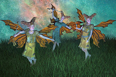 Elf Digital Art - Dreamscape by Betsy Knapp