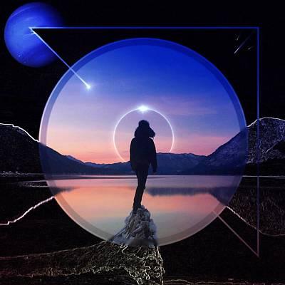 Space Digital Art - Dreamscape by Brennan Gallegos
