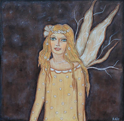Rain Ririn Painting - Dreamy Fairy by Rain Ririn