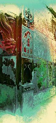 Long Street Digital Art - Dreamy Vintage Abstract Arches Sun Fort Rajasthan India 2g by Sue Jacobi