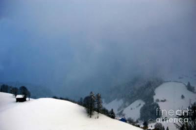 White Photograph - Dreamy Winter Wonderland by Susanne Van Hulst