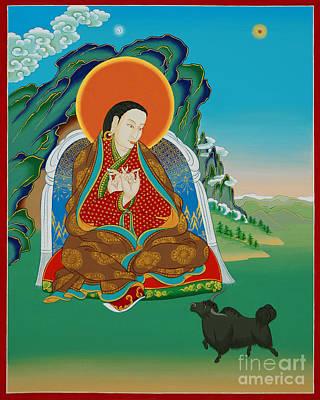 Tantra Painting - Drenpa Namkha by Sergey Noskov