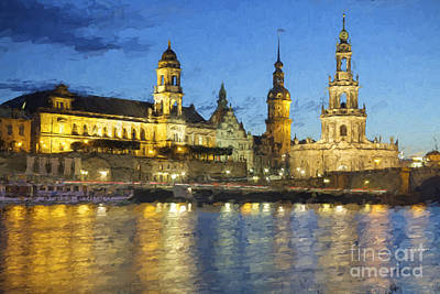 Dresden Photograph - Dresden Altstadt by Julie Woodhouse