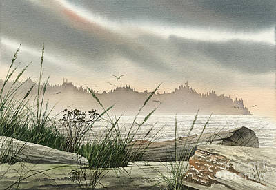 Driftwood Glow Print by James Williamson