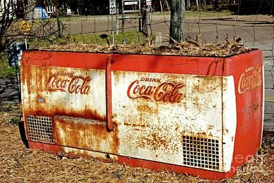 Drink Coca-cola Print by Gary Richards