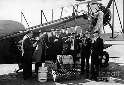Drinking Prohibition Agents  Print by Jon Neidert