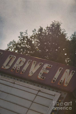 Outdoor Theater Photograph - Drive In II by Margie Hurwich
