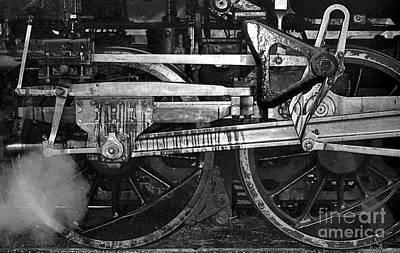 Driving Wheels Print by Richard Rizzo