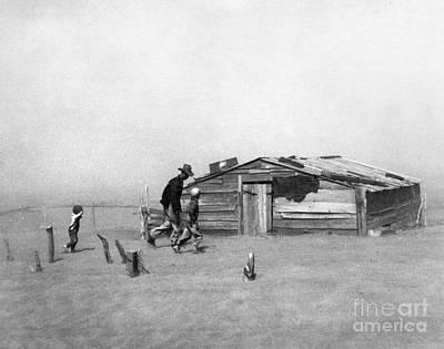 Drought: Dust Storm, 1936 Print by Granger