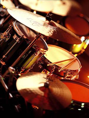 Drums Print by Robert Ponzoni