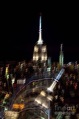 New York Skyline Photograph - Drunk Town by Az Jackson