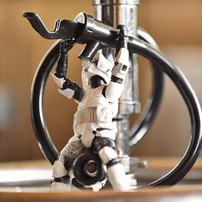 Return Of The Jedi Photograph - Drunkin Trooper by Matt Ferris