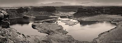 Dry Falls Pano Original by Melisa Meyers