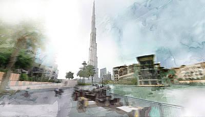 Dubai 5 Print by Jani Heinonen