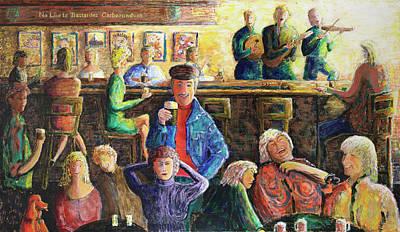 Dublin Temple Street Original by Richard W Dillon