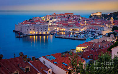 Dubrovnik Photograph - Dubronvik Dawn by Inge Johnsson