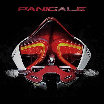 Ducati Panigale Print by Yurdaer Bes