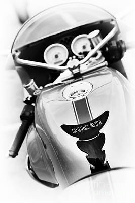 Ducati Ps1000le Abstract Print by Tim Gainey
