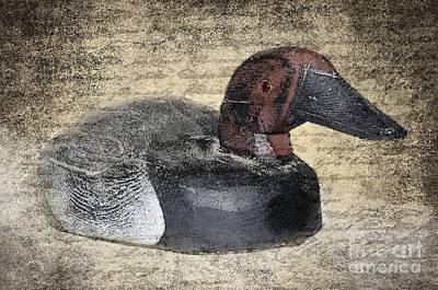 Duck Decoy Print by Betty LaRue