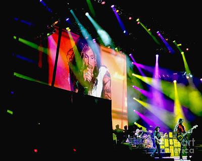 Aerosmith Digital Art - Sweet Emotion. Aerosmith Live by Tanya Filichkin