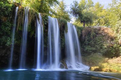 Duden Waterfall - Turkey Print by Joana Kruse