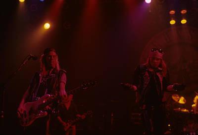 Axl Rose Photograph - Duff Mckagan And Axl Rose by Rich Fuscia