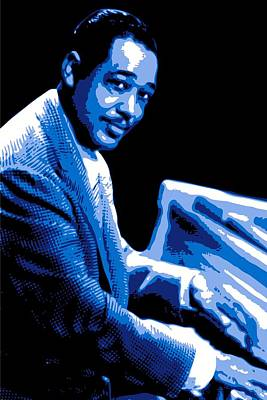 Jazz Digital Art - Duke Ellington by DB Artist