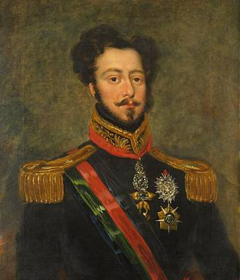 Portugal Art Painting - Duke Of Braganca by Mountain Dreams