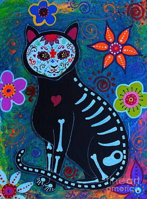 Oaxacan Painting - Dulce Amigo by Pristine Cartera Turkus