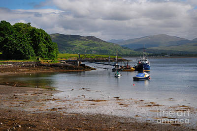 Scotland Photograph - Dunbeg by Stephen Smith