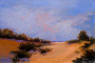 Painting - Dune Drama by Jan Blencowe