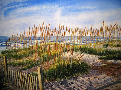 Dunes At Dawn Print by Shirley Braithwaite Hunt