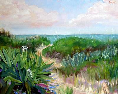 Dunes Beachpath Original by Pamela Geiger