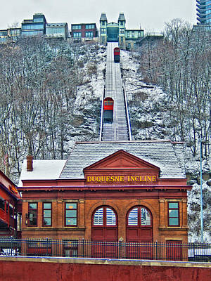 Duquesne Incline Print by Mark Dottle