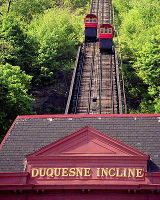 Duquesne Incline Print by Tom Leach