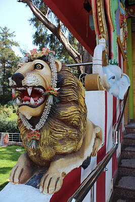 Durga Photograph - Durga's Lion by Jennifer Mazzucco
