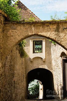 Durnstein Photograph - Durnstein Archways by Bob Phillips