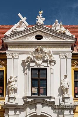 Durnstein Photograph - Durnstein Stifskirche by Bob Phillips
