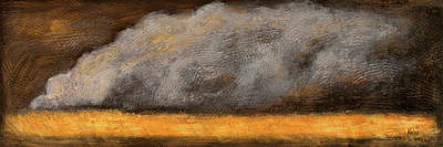Earth Tones Painting - Duststorm by Bonnie Kelso