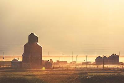 Granary Photograph - Dusty Straw by Todd Klassy