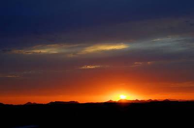 Digital Art - Dusty Sunset by Dan Stone