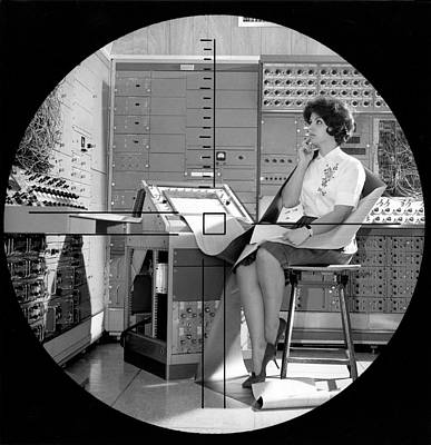 Dynamic Simulator Computer Print by Underwood Archives