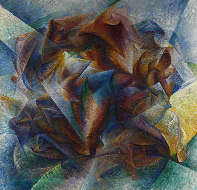 Boccioni Painting - Dynamism Of A Soccer Player by Umberto Boccioni