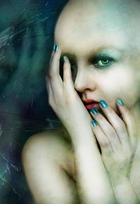 Stress Digital Art - Dysthymia by Mary Hood