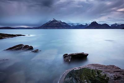 Elgol Photograph - Skye Seascape by Grant Glendinning