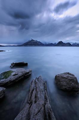 Elgol Photograph - On Stranger Shores by Grant Glendinning