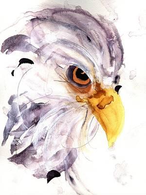 Eagle Print by Dawn Derman