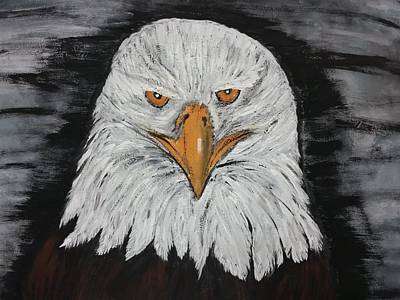 Eagle Painting - Eagle Painting by Christina Taylor