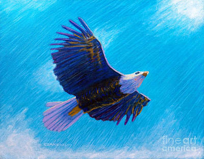 Eagleheart Original by Brian Commerford